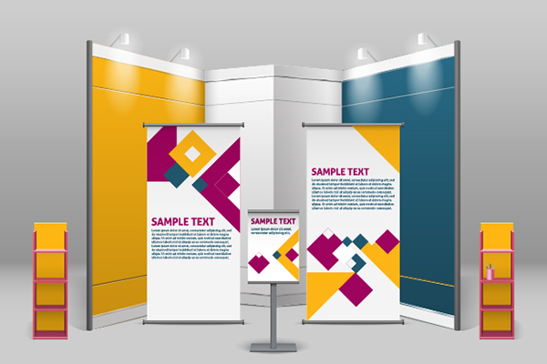 Customized pull up banners for business in Charlotte, NC