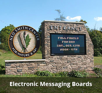 Electronic Messaging Boards