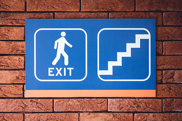 Interior Corporate Directional Signs in Charlotte, NC