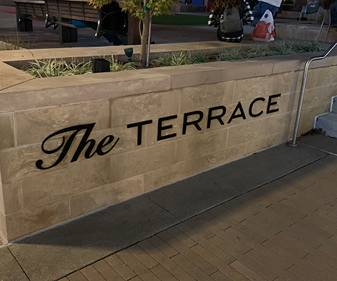 Attractive Signs for The Terrace in Charlotte, NC