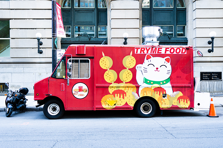 TRYME Food full vehicle wraps in Charlotte, NC