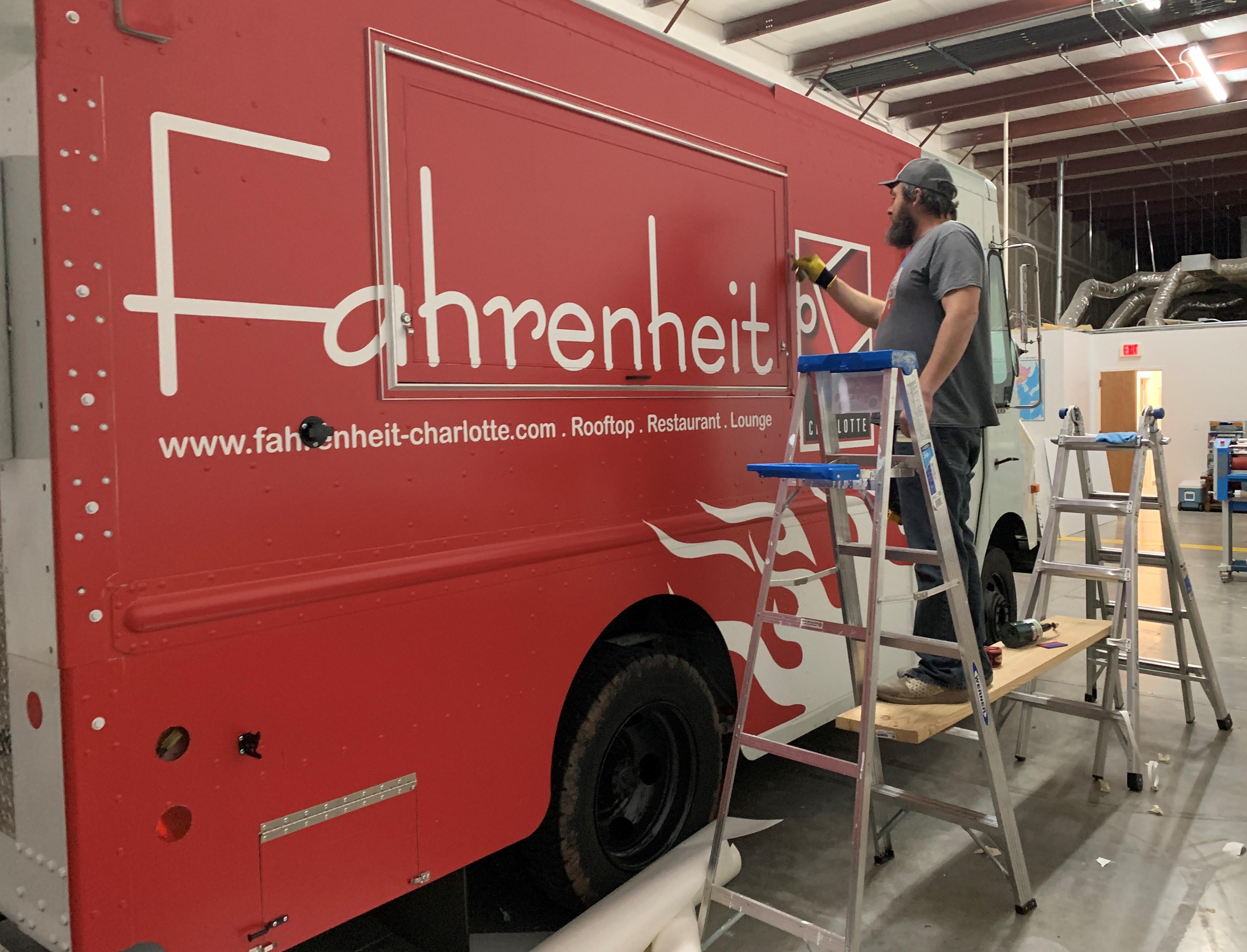 Fahrenhhiet Truck