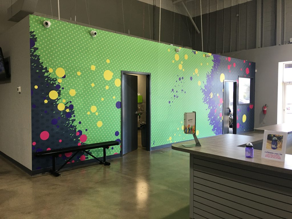 Custom Interior Wall Wraps for Office in Charlotte, NC