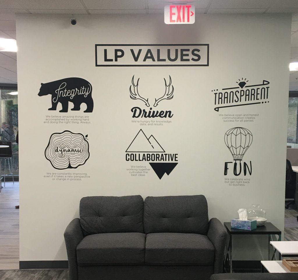 Custom Lobby Signs