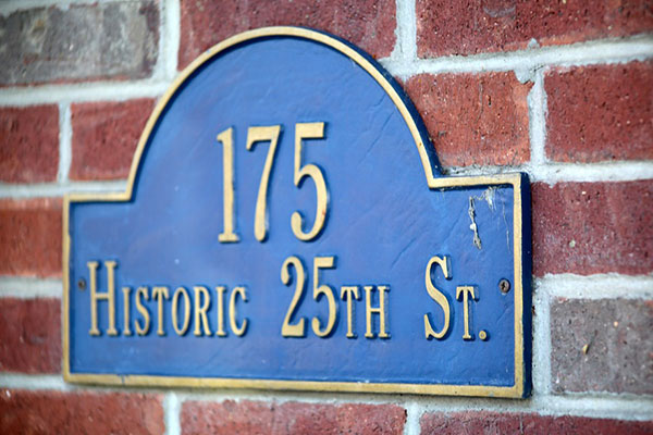 175 Address Plaques in Charlotte, NC