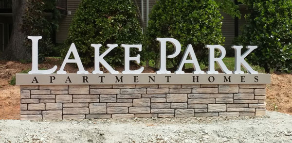Lake Park Custom Channel Letters in Charlotte, NC