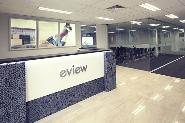 Front Desk Custom Signs for EVIEW in Charlotte, NC