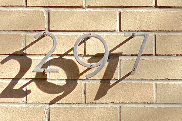 297 Commercial Address Plaques in Charlotte, NC