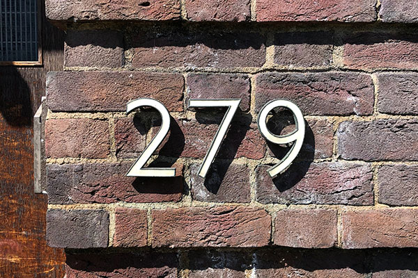 279 Address Numbers in Charlotte, NC