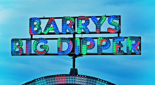 Barrys Big Dipper Exterior Lighted Signs in Charlotte, NC