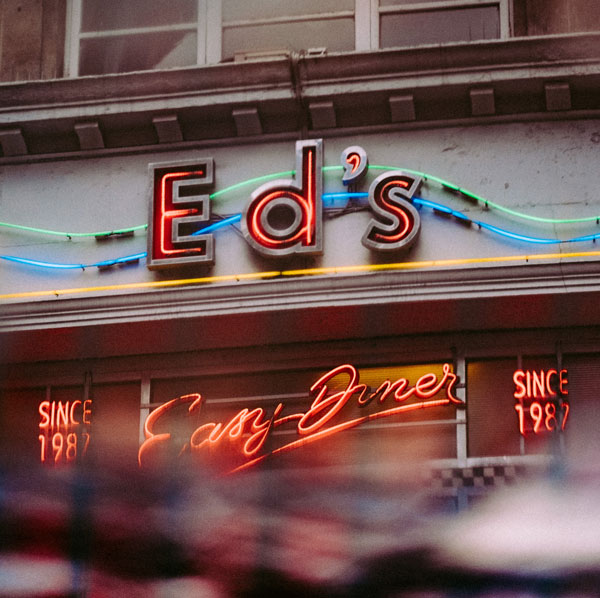 Storefront lighted business signs for ED's in Charlotte, NC