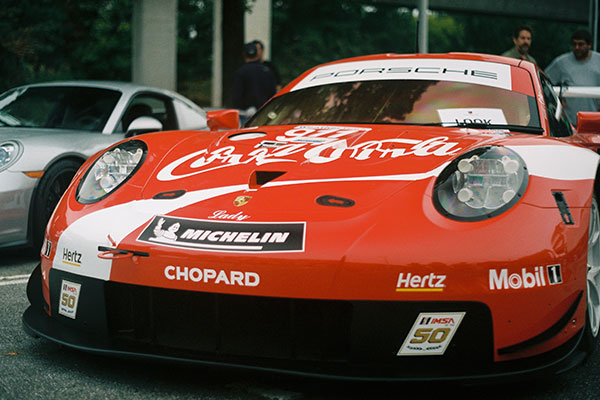 Porsche Coca Cola Advertisement with Vinyl Wraps & Decals in Charlotte, NC
