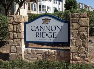 Foamcore Monument Signs for Cannon Ridge by QC Signs Charlotte