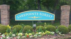 Lakepinte Forest Monument Signage by QC Signs Charlotte