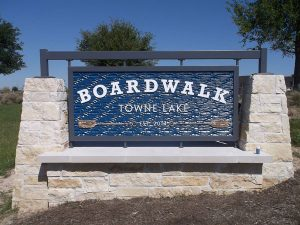 Boardwalk Monument Signs by QC Signs Charlotte
