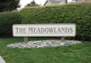 The Meadowlands perfect monument signs by QC Signs Charlotte