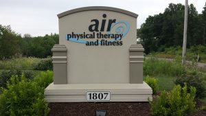 Air Physical Therapy & Fitness Monument Signs in Charlotte, NC