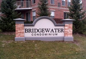 Bridgewater Customized Monument Signs by QC Signs Charlotte