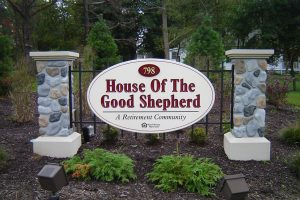 House of the Shepherd Monument Signage in Charlotte, NC