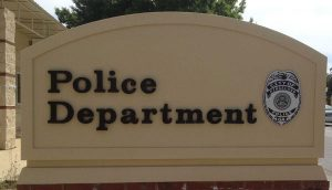 Police Monument Signs in Kingsland by QC Signs Charlotte