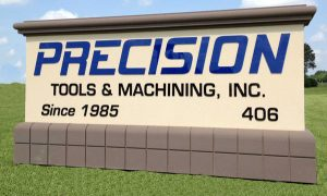 Precision Monument Signs in Charlotte, NC
