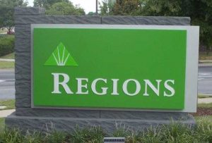 Regions monument signs by QC Signs Charlotte