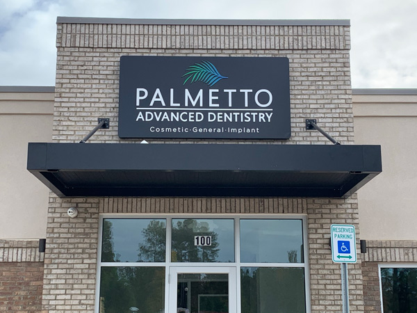 Palmetto Outdoor Building Signs in Charlotte, NC