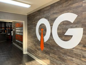 Interior acrylic office signs by QC Signs & Graphics in Charlotte, NC