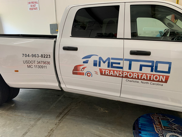 Vehicle Wraps for Metro Transportation in Charlotte, North Carolina