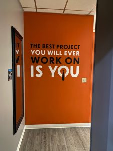 Office wall graphics by QC Signs Charlotte