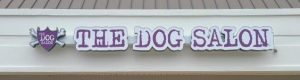 The Dog Salon Channel Letter Signs in Charlotte, NC