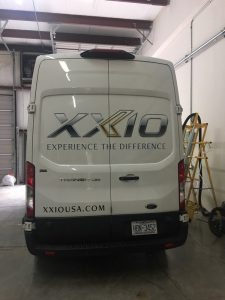 Commercial vehicle wraps by QC Signs Charlotte