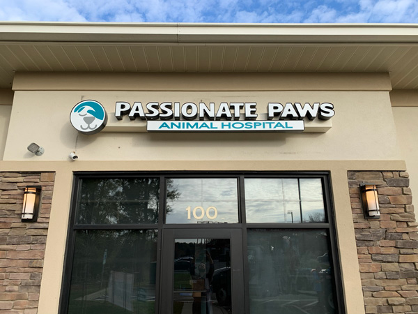 Passionate Paws Channel Letters in Charlotte, NC