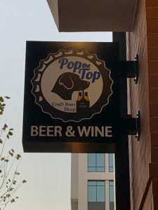 Beer & Wine Exterior Blade Signs in Charlotte, NC