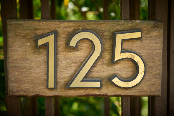 125 Custom Number Signs in Charlotte, NC