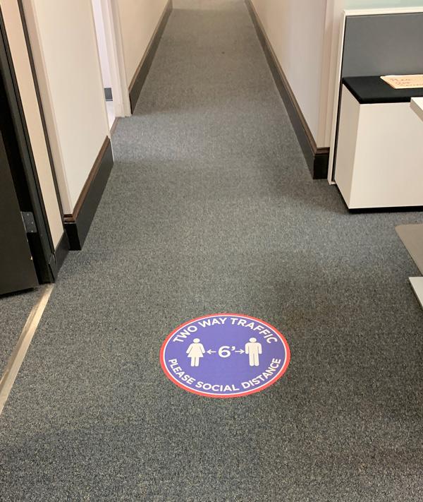 Custom Interior Floor Decals in Charlotte, NC