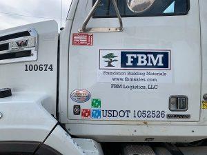 Vinyl Truck Wraps for FBM in Charlotte